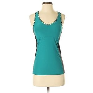 Old Navy teal turquoise green active workout tank